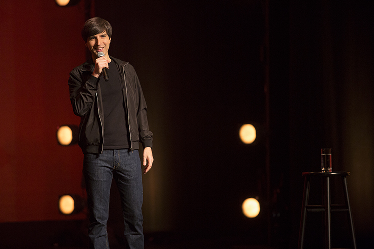 "Demetri Martin shows of his cleverness on ""The Overthinker"""